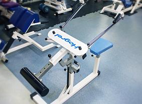 ディッピング 肩甲骨周辺の柔軟性改善マシン